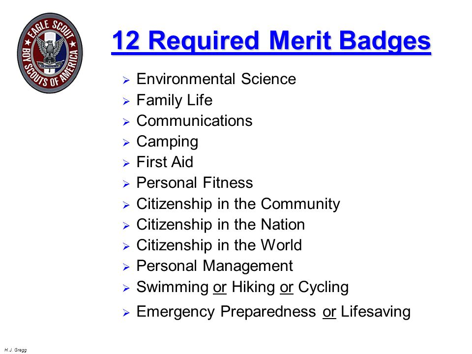 12 Required Merit Badges Environmental Science Family Life