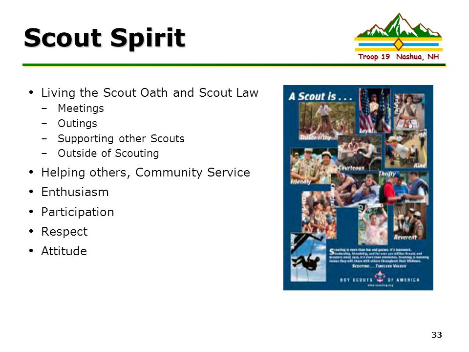 Scout Spirit Living the Scout Oath and Scout Law