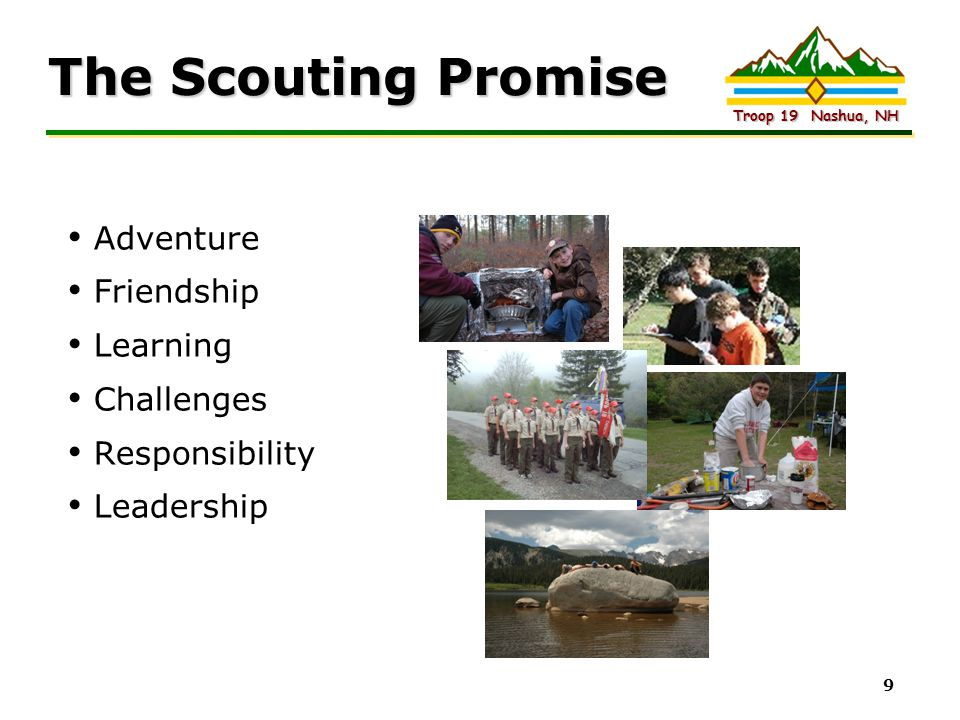 The Scouting Promise Adventure Friendship Learning Challenges