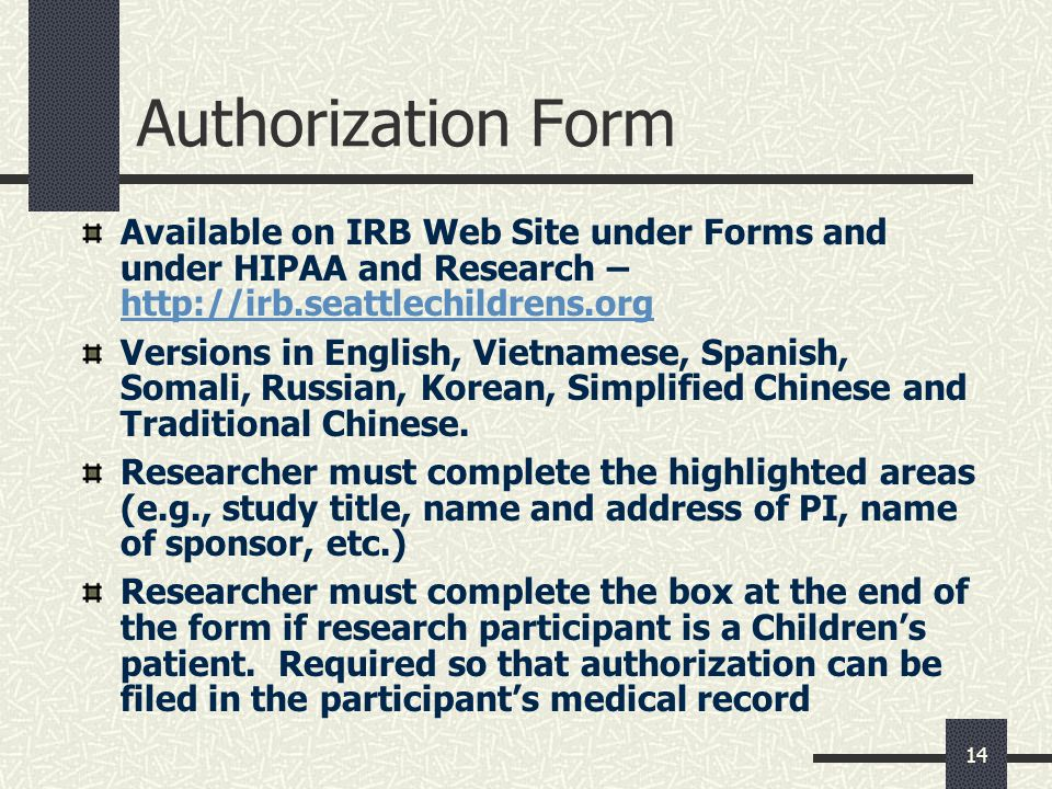 Hipaa Privacy Rule And Research - Ppt Download