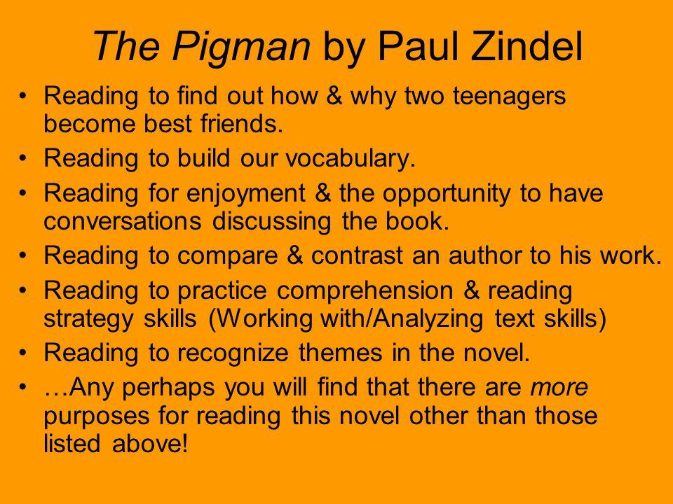 The Pigman by Paul Zindel