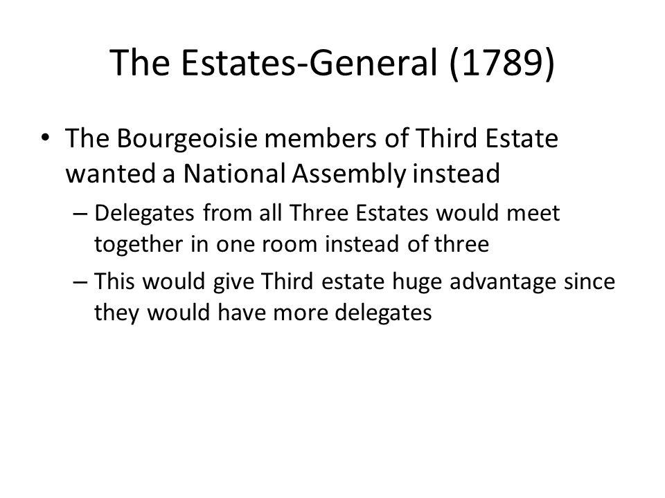 The Estates-General (1789)