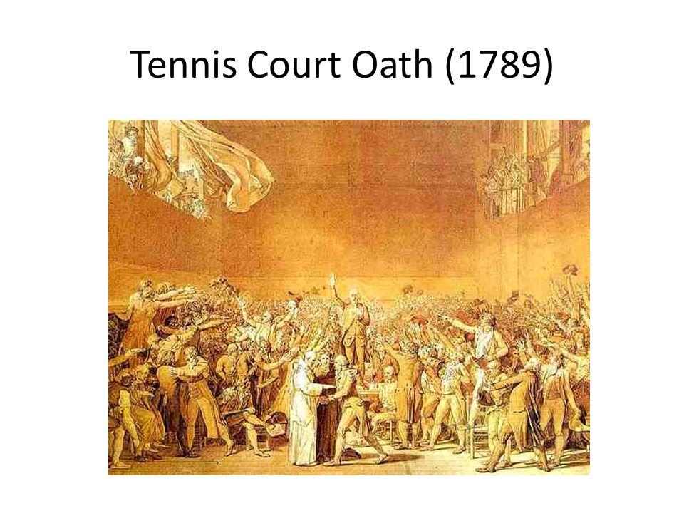 Tennis Court Oath (1789)