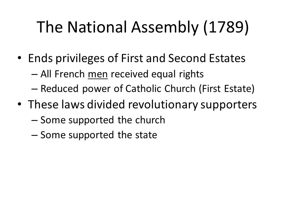 The National Assembly (1789)