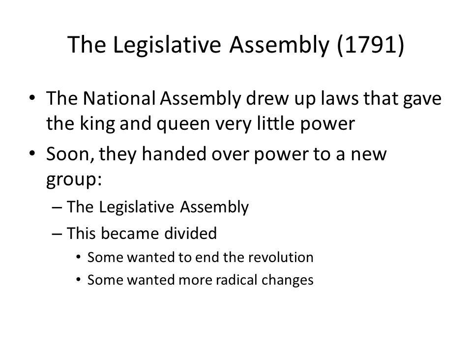 The Legislative Assembly (1791)