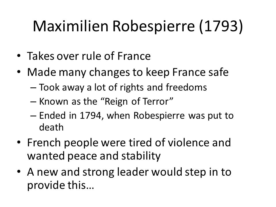 Maximilien Robespierre (1793)