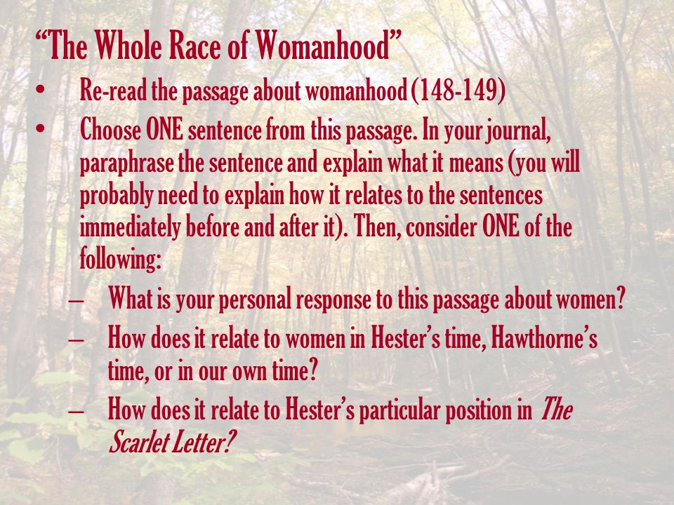 The Whole Race of Womanhood