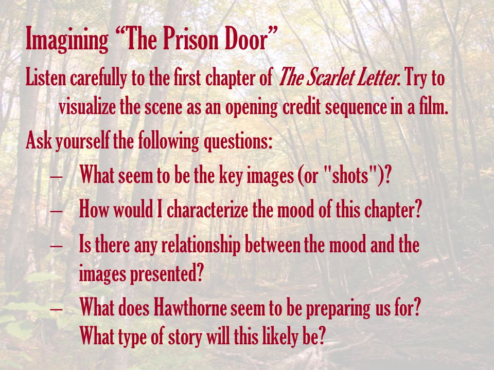 Imagining The Prison Door
