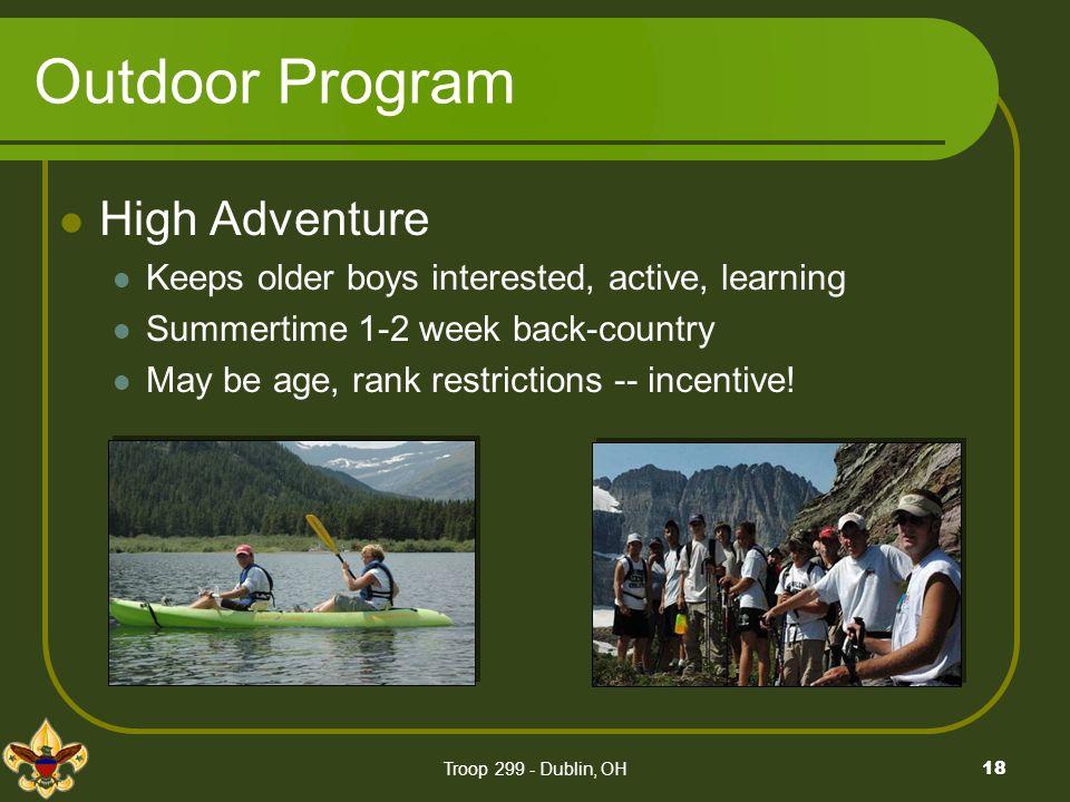 Outdoor Program High Adventure