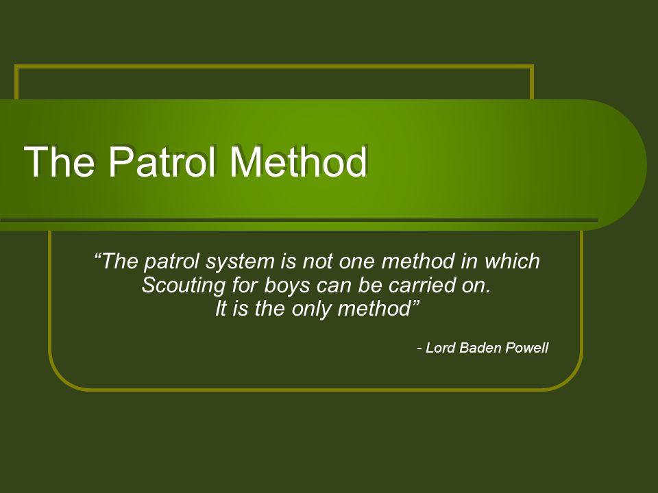 www.troop299skc.org 4/4/2006. The Patrol Method.