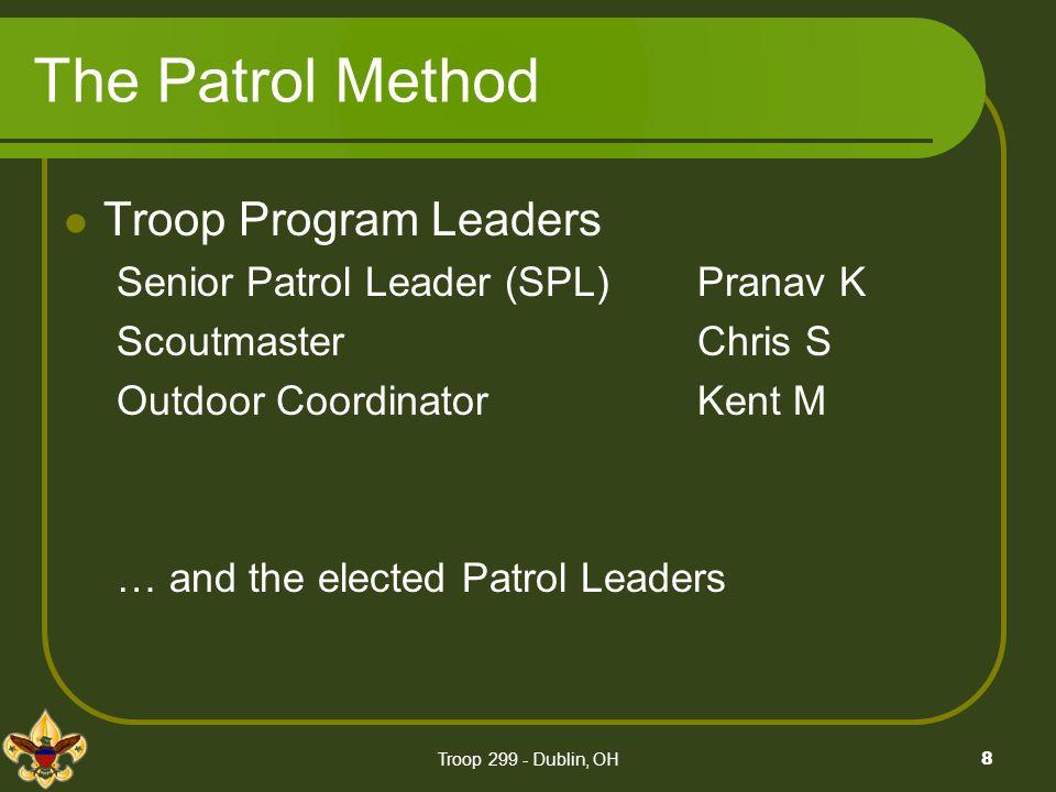 The Patrol Method Troop Program Leaders