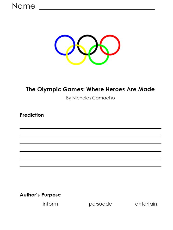 The Olympic Games: Where Heroes Are Made