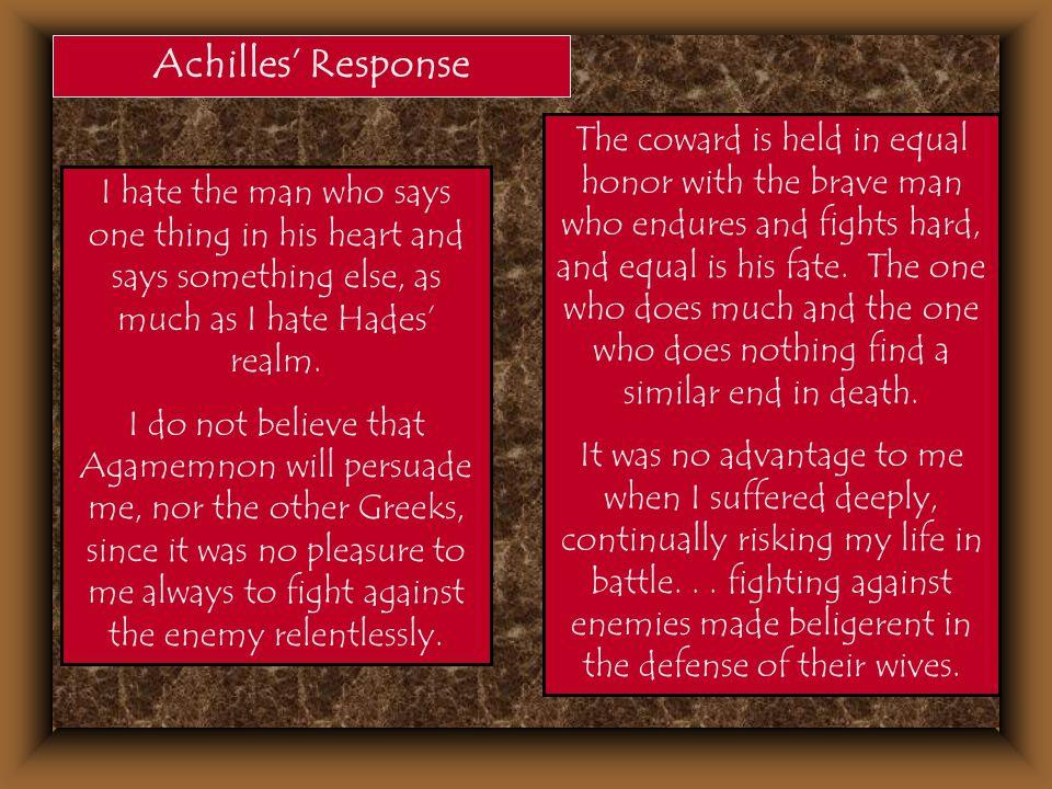 Achilles' Response