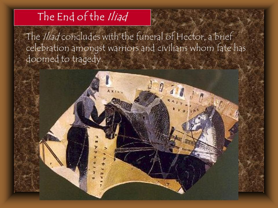 The End of the Iliad