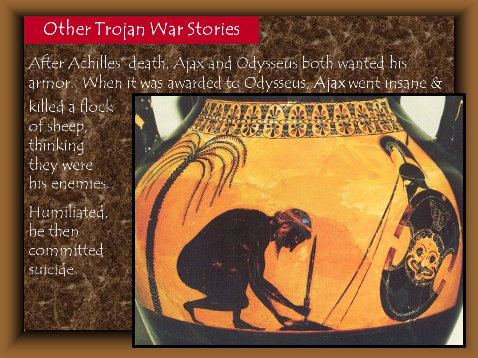 Other Trojan War Stories