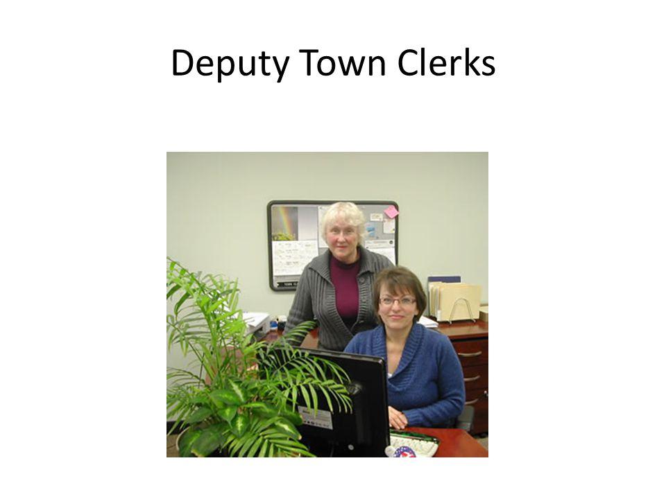 Deputy Town Clerks