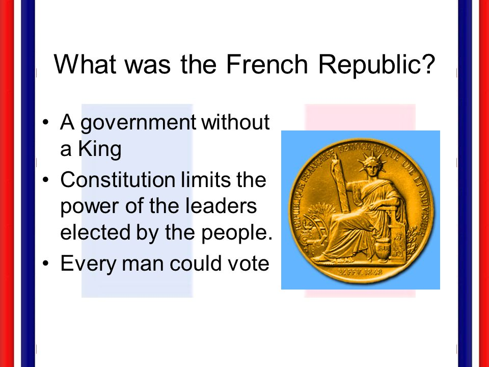What was the French Republic