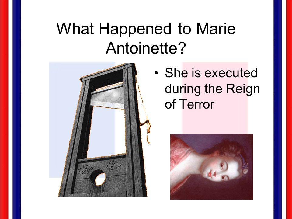 What Happened to Marie Antoinette