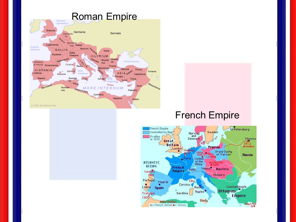 Roman Empire French Empire
