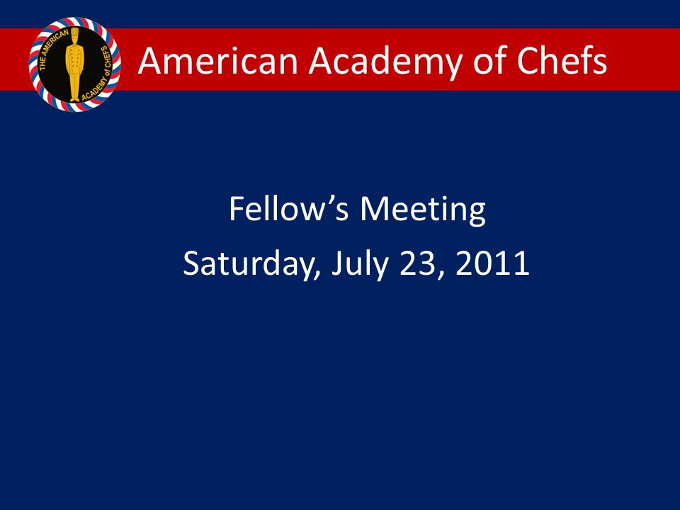 American Academy of Chefs