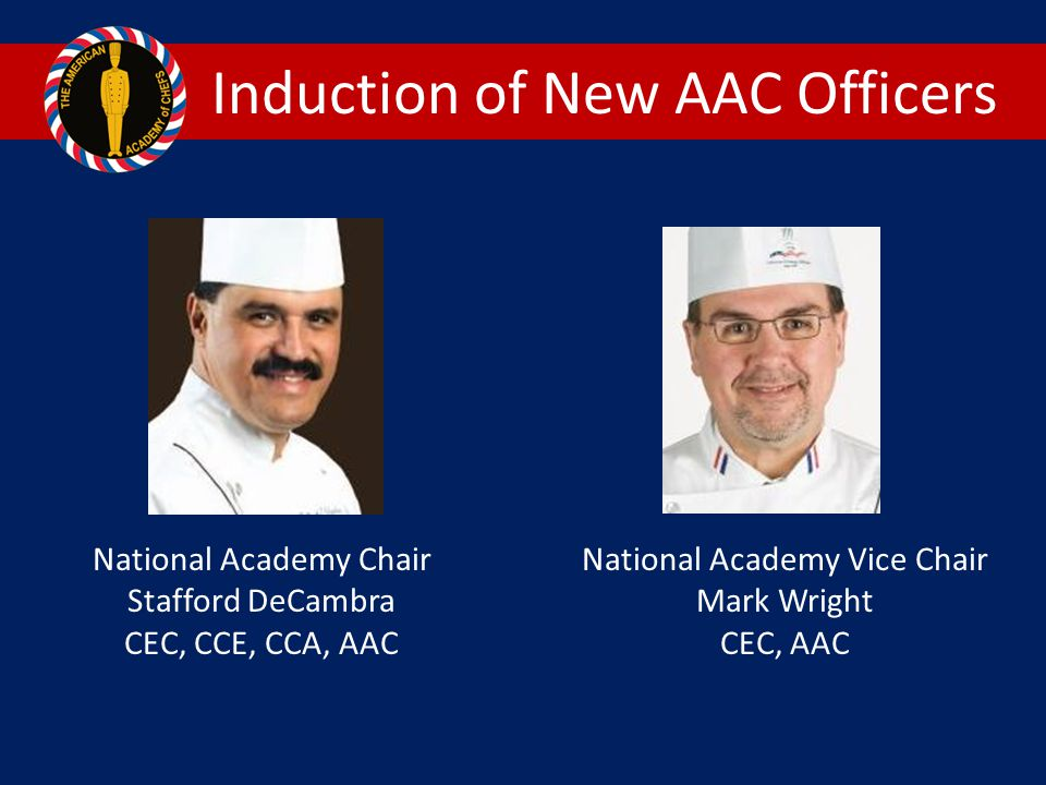 Induction of New AAC Officers