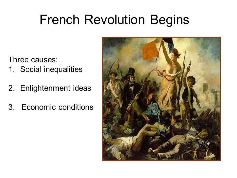 the french revolution social classes The french revolution of 1789 had many long-range causes political, social, and economic conditions in france contributed to the discontent.