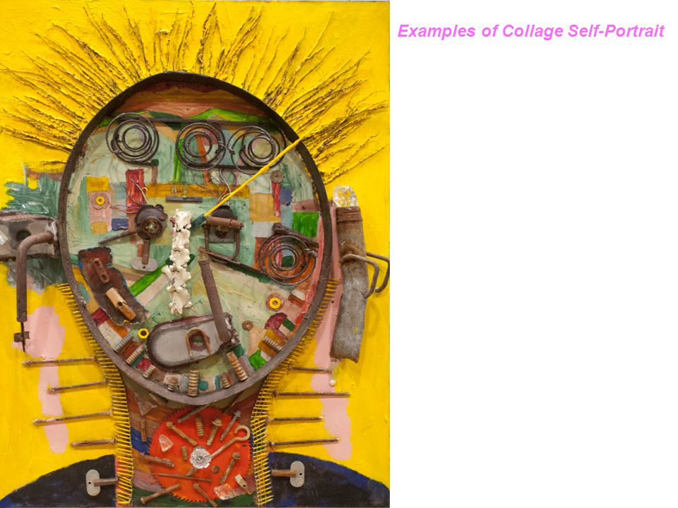 Examples of Collage Self-Portrait