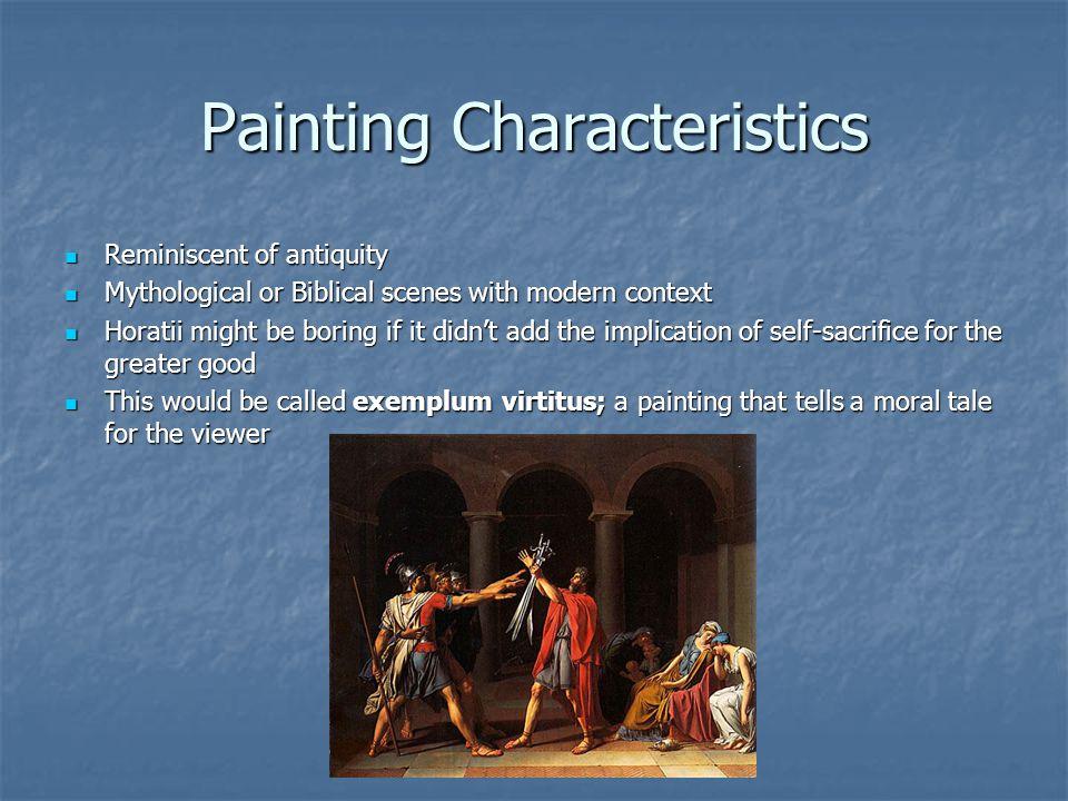 Painting Characteristics