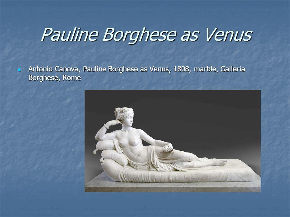Pauline Borghese as Venus