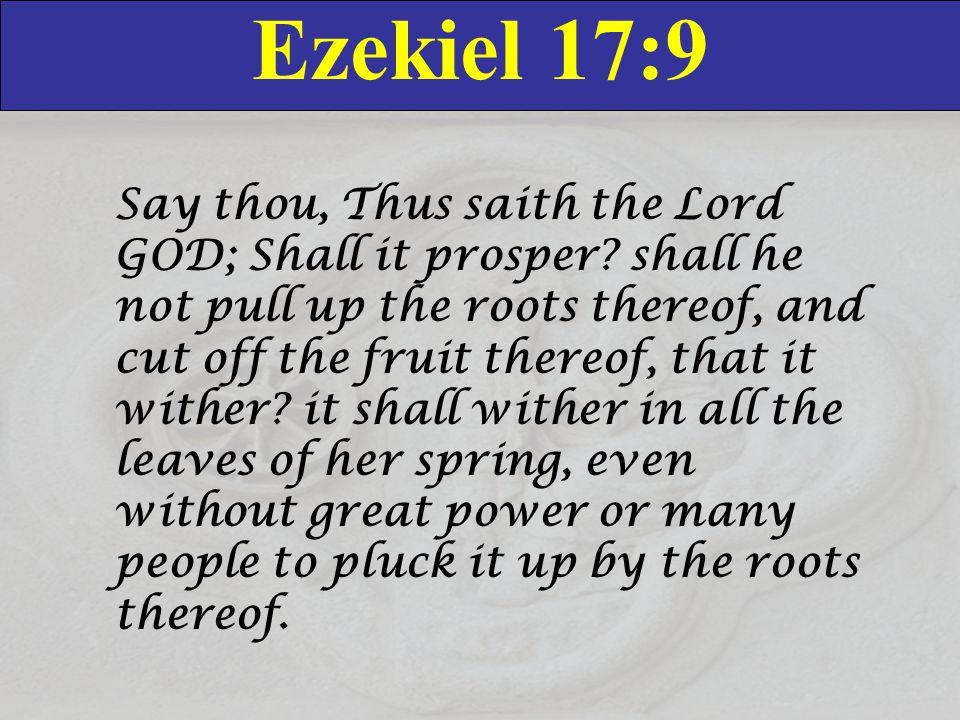 Ezekiel 17:9
