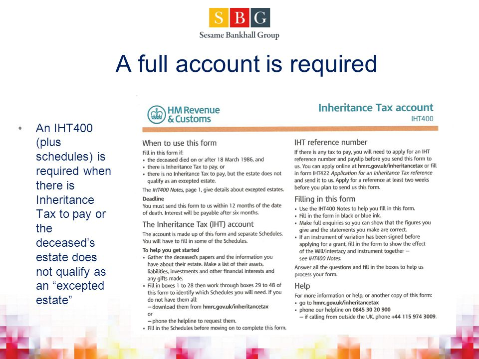 A full account is required
