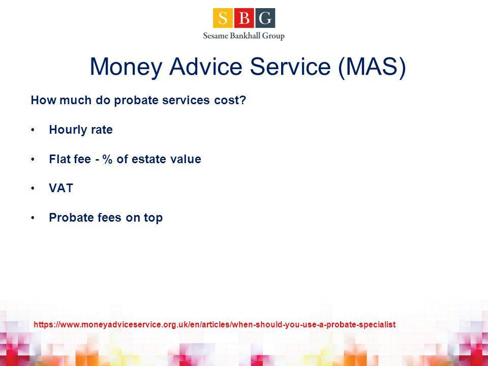 Money Advice Service (MAS)