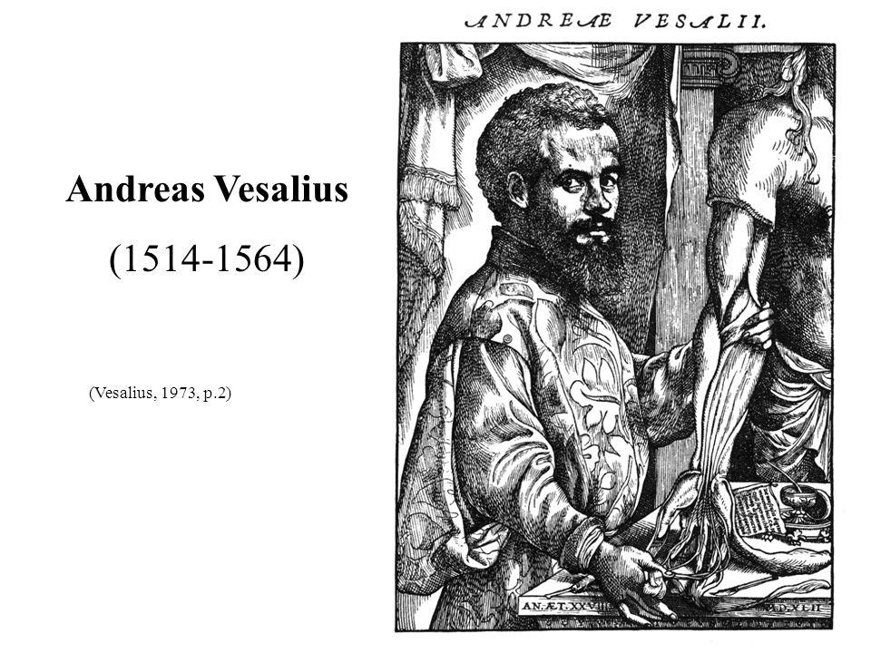 Andreas Vesalius (1514-1564) (Vesalius, 1973, p.2) 27