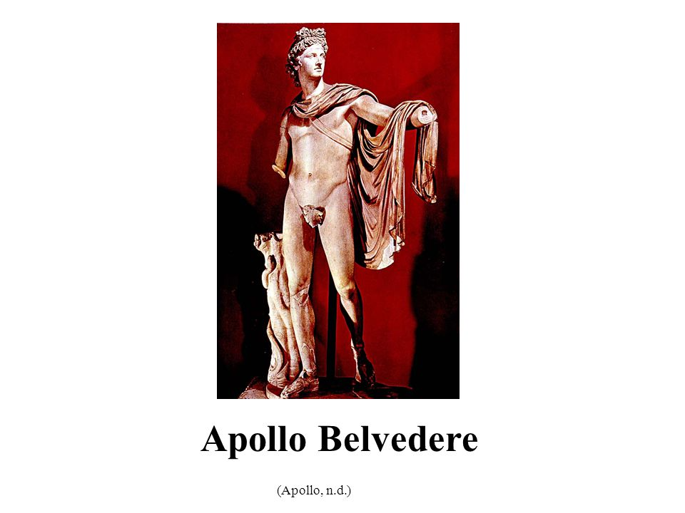 Apollo Belvedere (Apollo, n.d.) 3