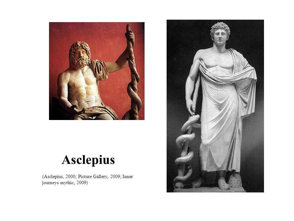 Asclepius (Asclepius, 2000; Picture Gallery, 2009; Inner journeys mythic, 2009) 4