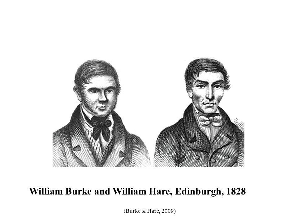 William Burke and William Hare, Edinburgh, 1828