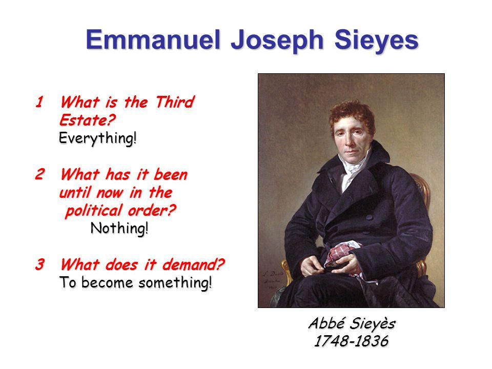 emmanuel joseph sieyès Emmanuel joseph sieyès emmanuel joseph sieyès par jacques louis david emmanuel joseph sieyès (prononcer [sjejɛs]), né le.