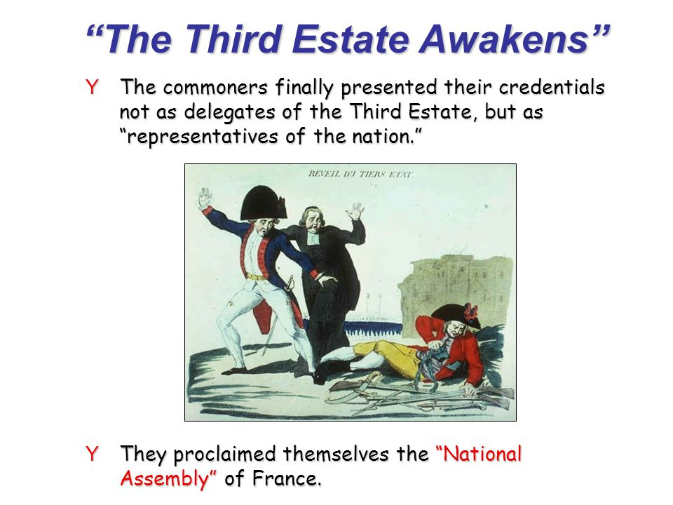 The Third Estate Awakens