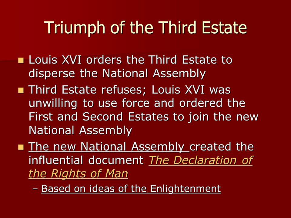 Triumph of the Third Estate