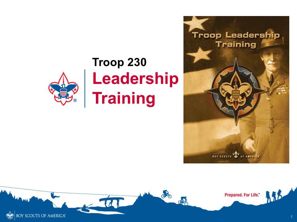 Troop 230 Leadership Training