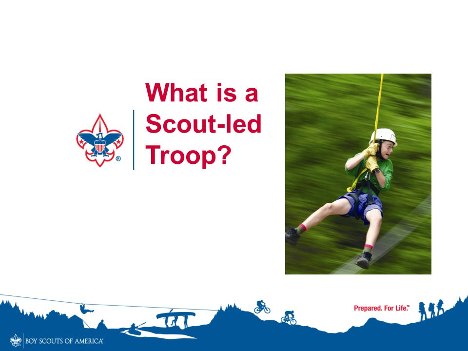 What is a Scout-led Troop
