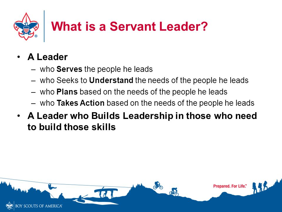 What is a Servant Leader