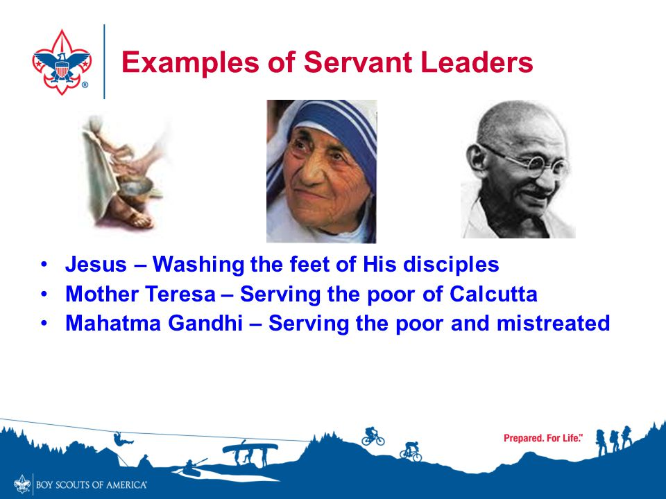 Examples of Servant Leaders