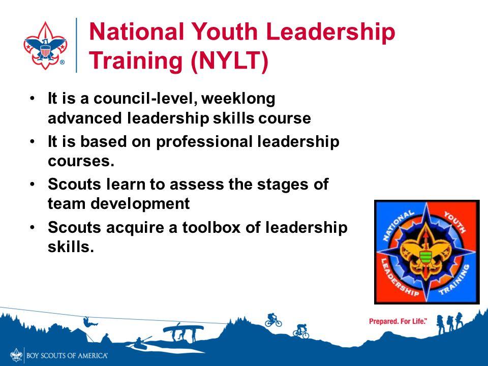 National Youth Leadership Training (NYLT)