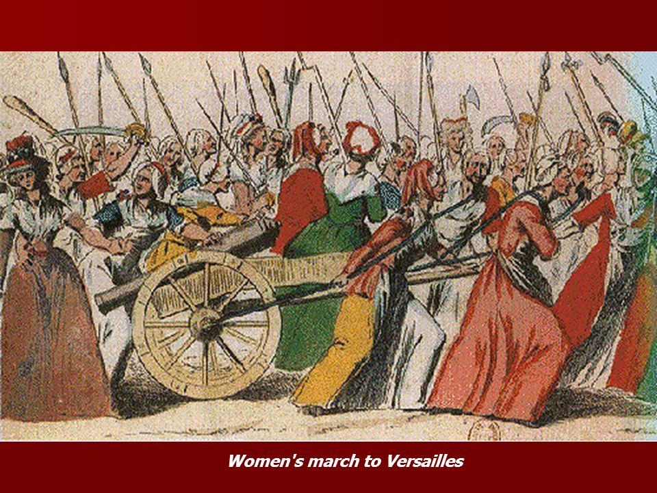 Women s march to Versailles