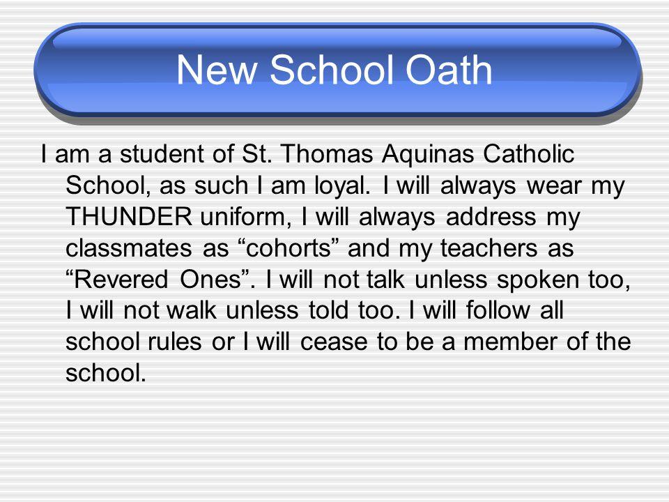 New School Oath