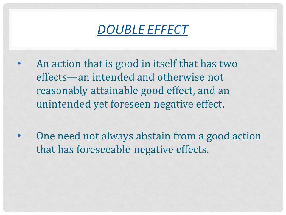 Double Effect