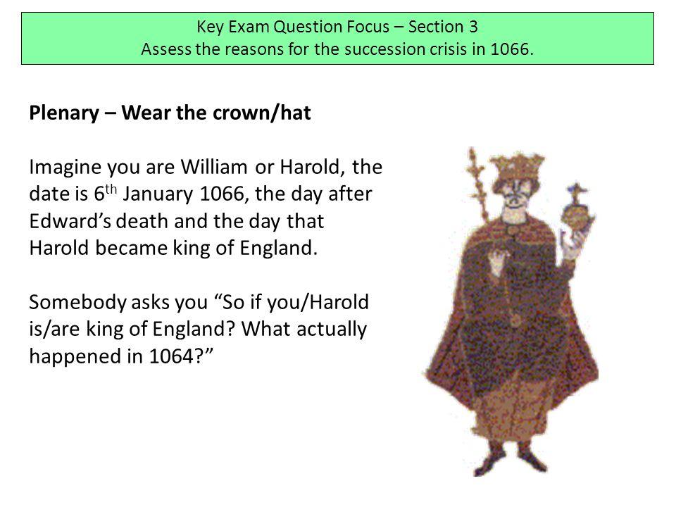 Plenary – Wear the crown/hat