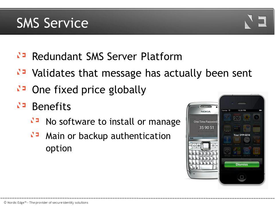 SMS Service Redundant SMS Server Platform
