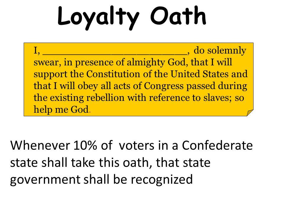 Loyalty Oath